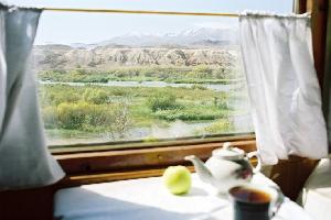 Asie centrale - Train spécial au pays de Tamerlan