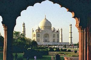 Sur la route du Taj Mahal ...