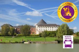 1 nuit à l'hôtel Vienna House Magic Circus 4* avec 2 jours d'accès aux parcs Disneyland® Paris (1 parc par jour)