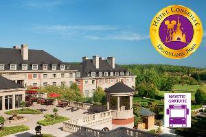 1 nuit à l'hôtel Vienna House Dream Castle 4* avec 2 jours d'accès aux parcs Disneyland® Paris (1 parc par jour)