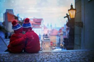 Prague à l'heure des marchés de Noël
