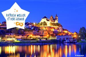 Week-end de fête sur le Rhin : Patricia Weller alias Marlyse Riegensthiel et Denis Germain
