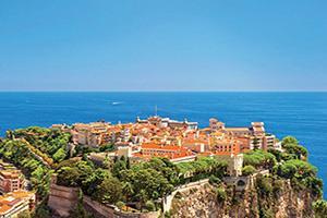 La Côte d'Azur, la « French Riviera »
